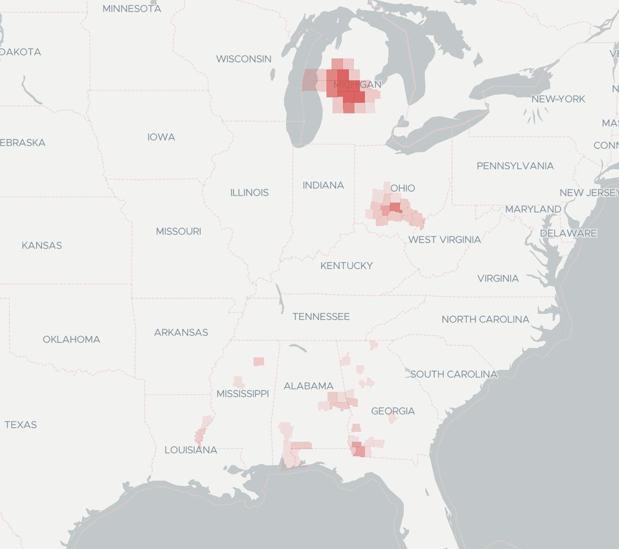 Point Broadband Availability Map. Click for interactive map.