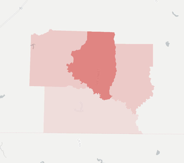 South Arkansas Telephone Company Availability Map South