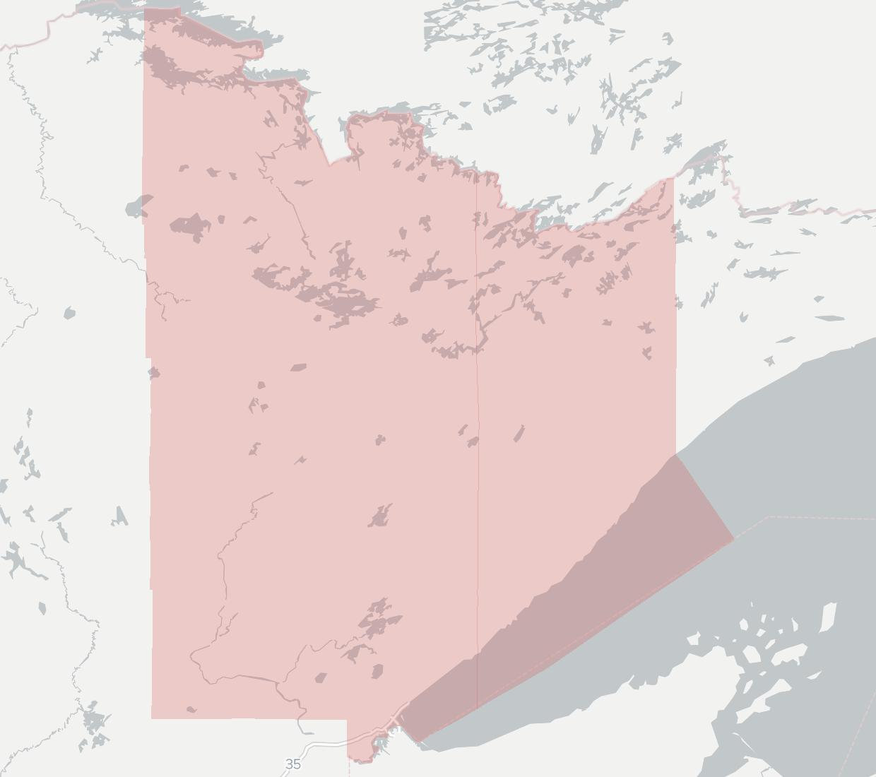 Treehouse Broadband Availability Map. Click for interactive map.