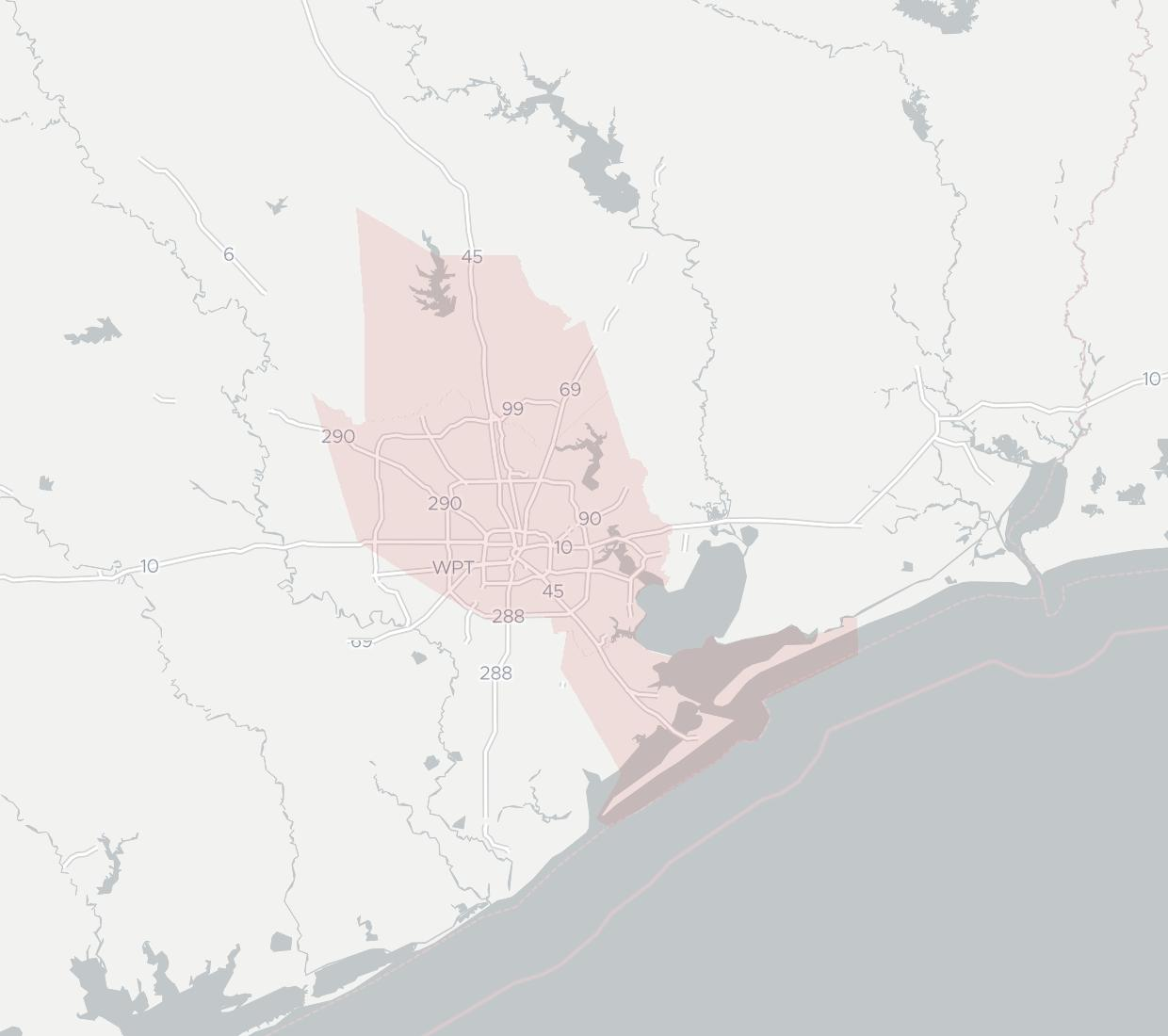Trinicom Communications Availability Map. Click for interactive map.