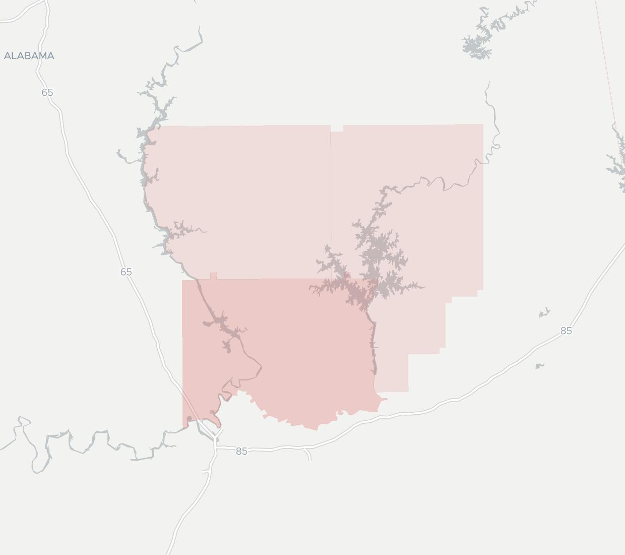 Troy Cablevision Coverage Map