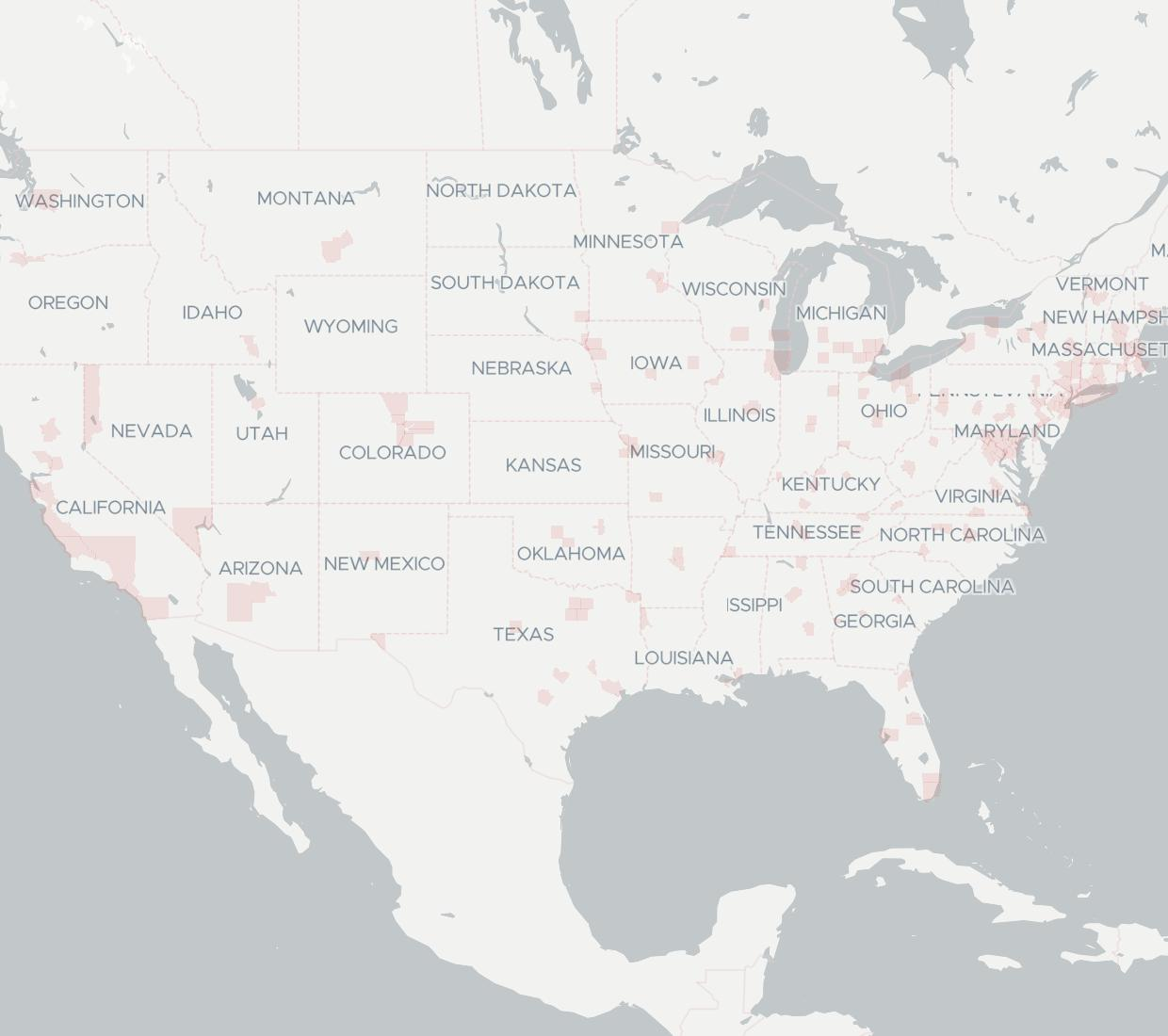 Verizon Business Business Service Provider BroadbandNowcom - Verizon coverage map wisconsin