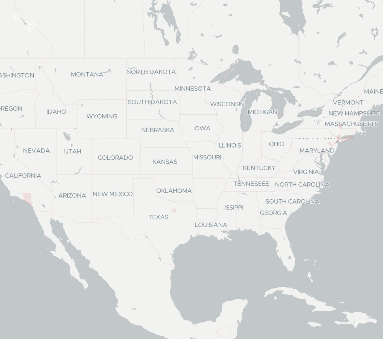 VoDa Networks Availability Map. Click for interactive map.