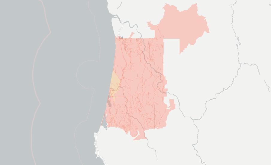 Orick California Map.Internet Providers In Orick Compare 7 Providers Broadbandnow Com
