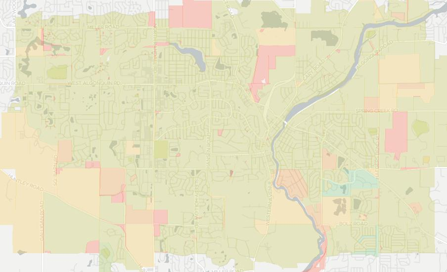 Algonquin Illinois Map.Internet Providers In Algonquin Compare 19 Providers