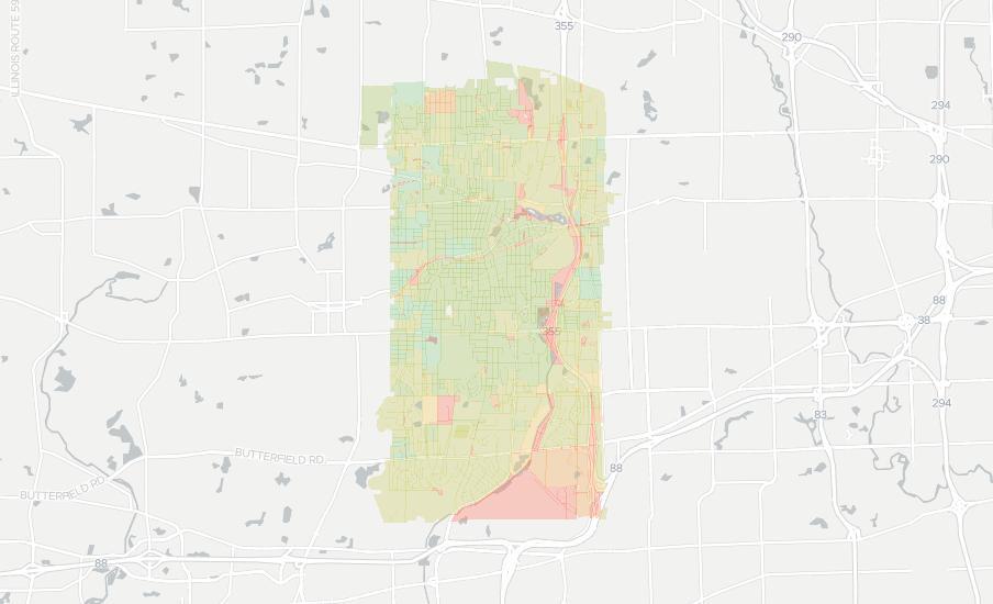 Glen Ellen Illinois Map.Glen Ellyn Has 21 Internet Service Providers Up To 987 Mbps