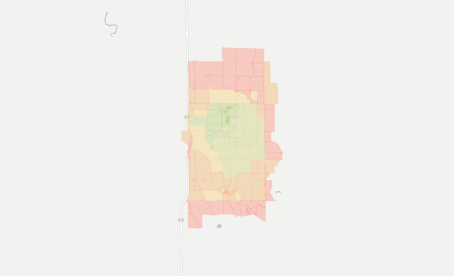 Upland Indiana Map.Upland In Has 12 Internet Service Providers Broadbandnow Com