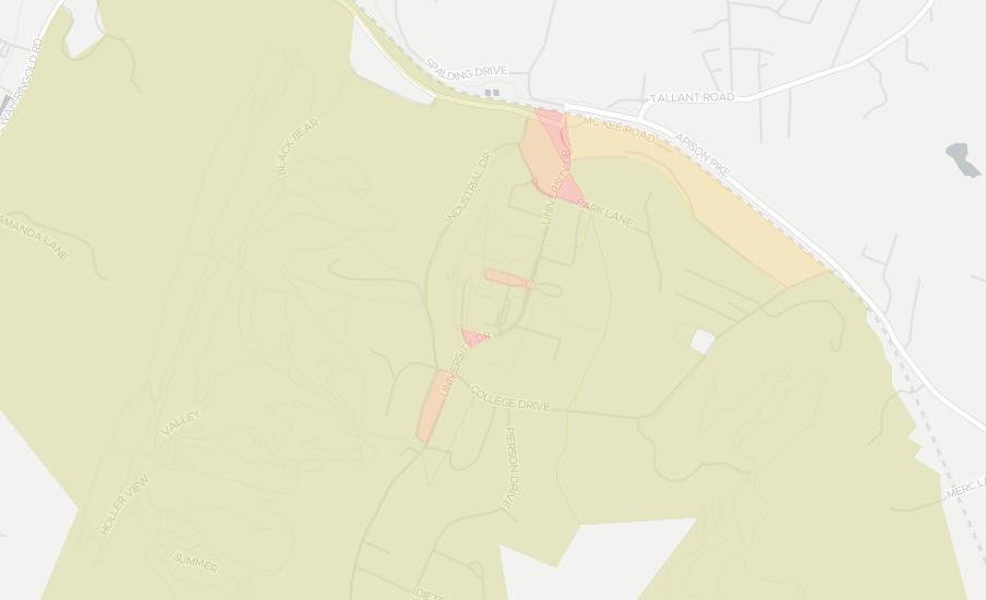 Zip Code 37363, Ooltewah, Tennessee Zip Code Boundary Map (TN)