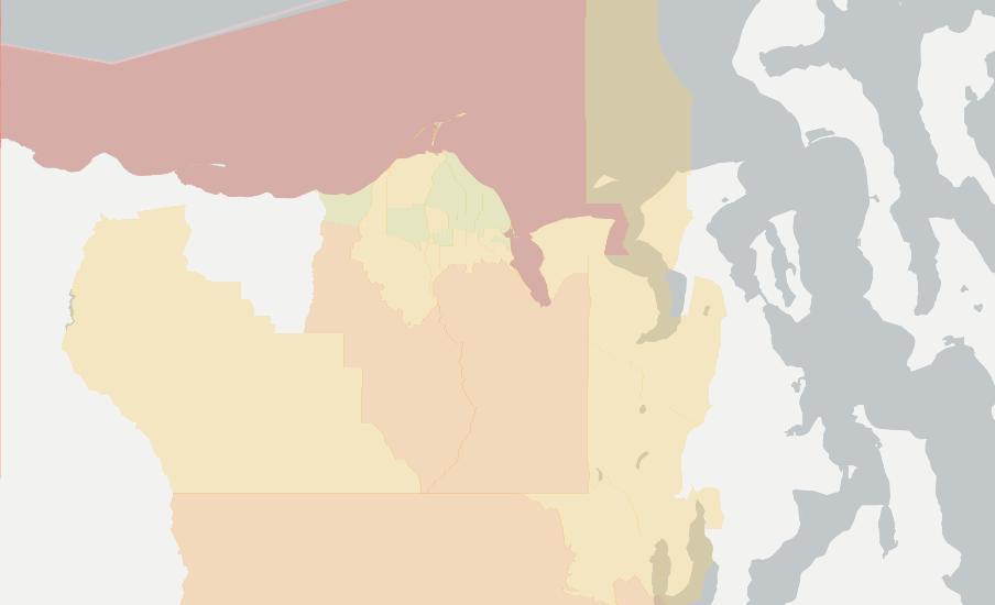 Sequim Zip Code Map.Internet In Sequim See All 14 Internet Providers Broadbandnow Com