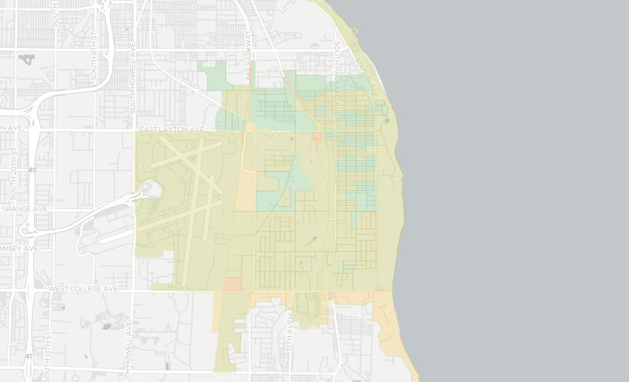 Cudahy Wisconsin Map.Internet Providers In Cudahy Compare 15 Providers Broadbandnow Com